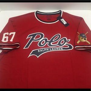 a26cdf9619e2d Polo by Ralph Lauren Shirts - Polo Bear Ralph Lauren Bears Baseball Jersey  Red
